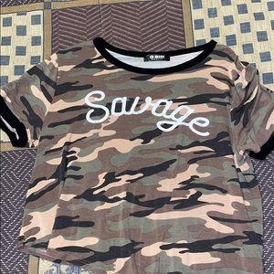 Camouflage Savage Shirt